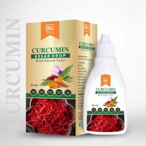 Curcumin Kesar Drop