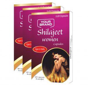 Shilajit Women Capsules (Mood And Sex Enhancer For Women)